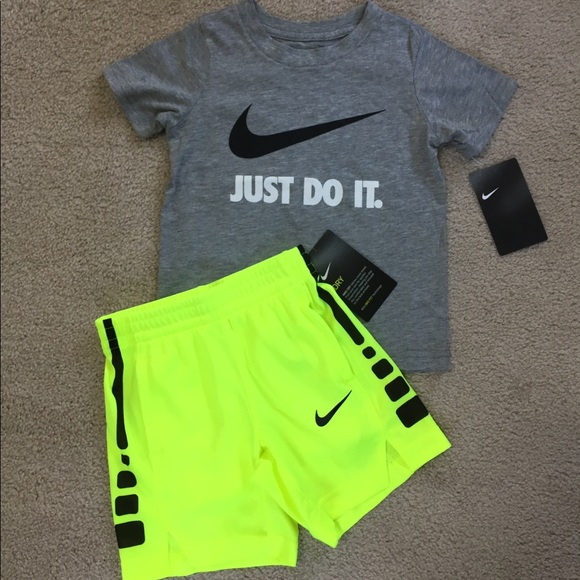 3t Boys Nike Outfit Nwt